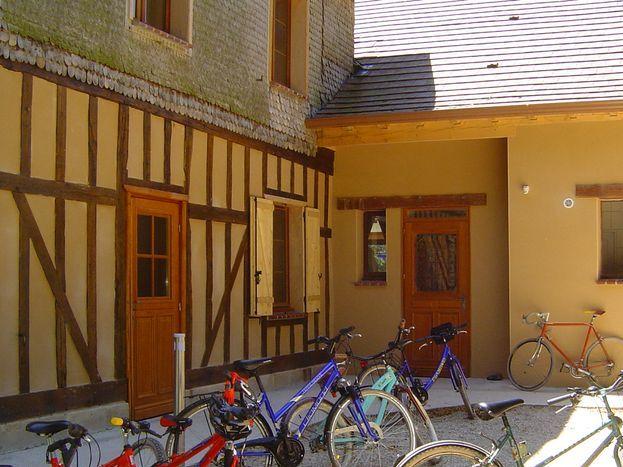 gîte accueil vélos à 10 mn des pistes cyclables 51G1046 - Les Clés d'Emeraude - Outines - Gîtes de France Marne