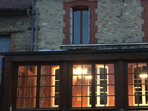 Vue sur la façade  51G472 - La maison du vigneron - Vincelles - Gîtes de France Marne