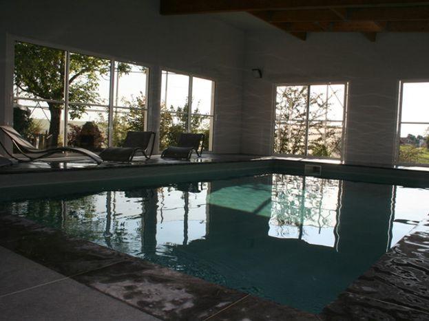 piscine chauffée couverte