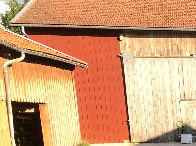 Grande cour intérieure fermée