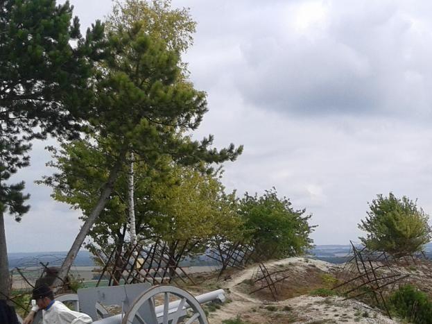 Main de Massiges - 14-18 - Tranchées guerre-Argonne