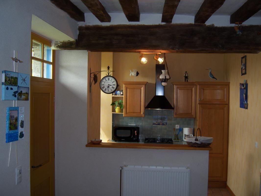 Entrée et espace cuisine