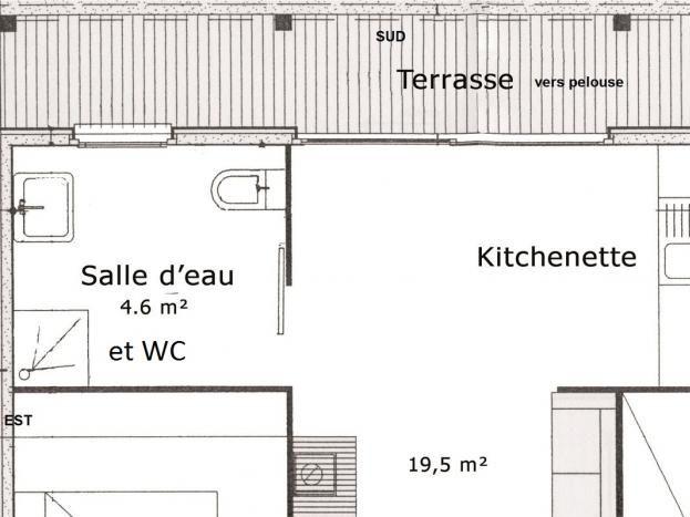 plan du gîte Les Potirons