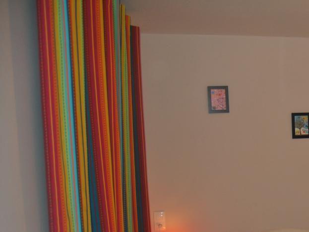 Ouest chambre pastel 1 lit simple 90cm