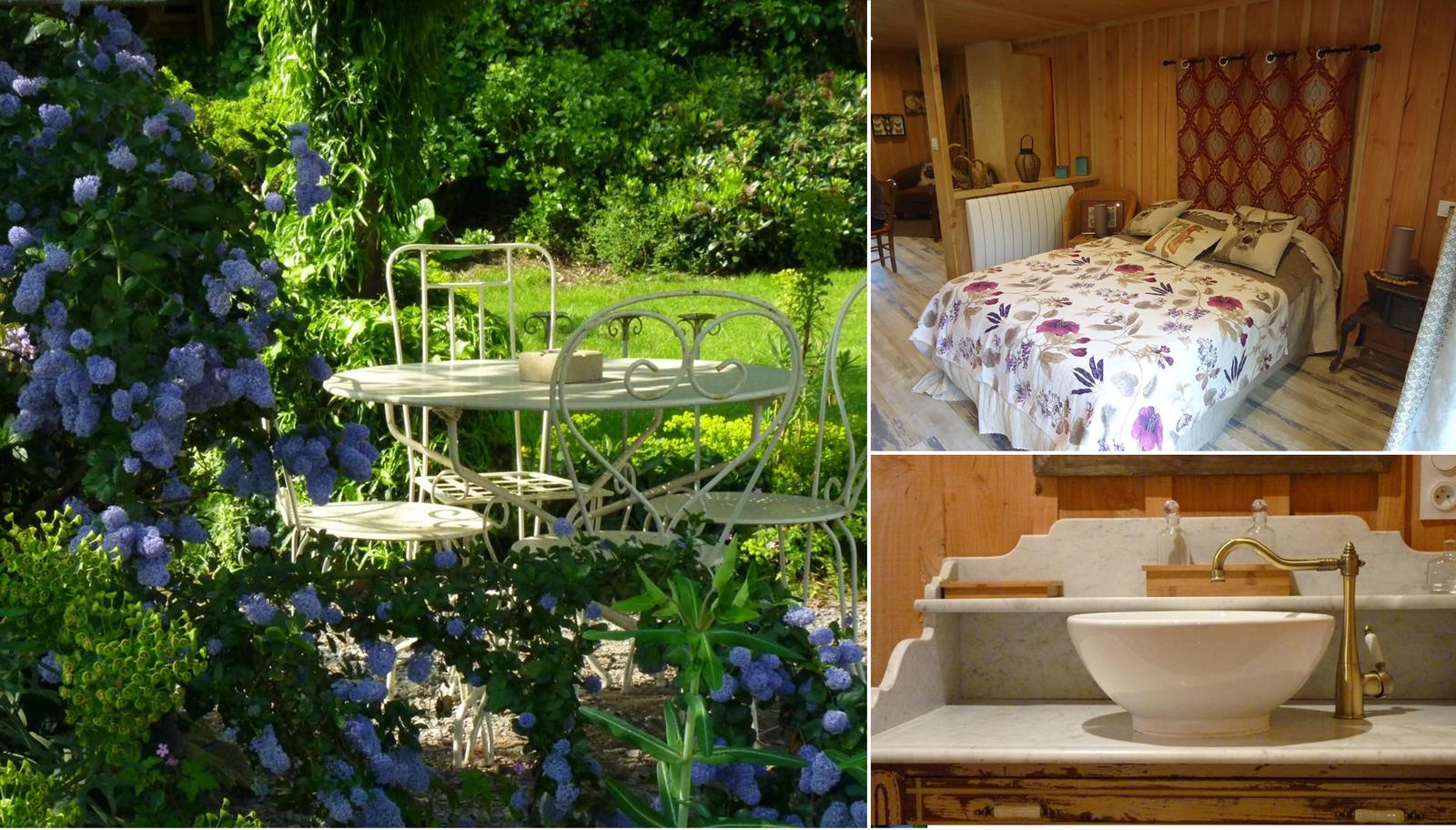 Votre séjour en Mayenne, dans un cadre original et secret, rencontrez les propriétaires passionnés par la vie