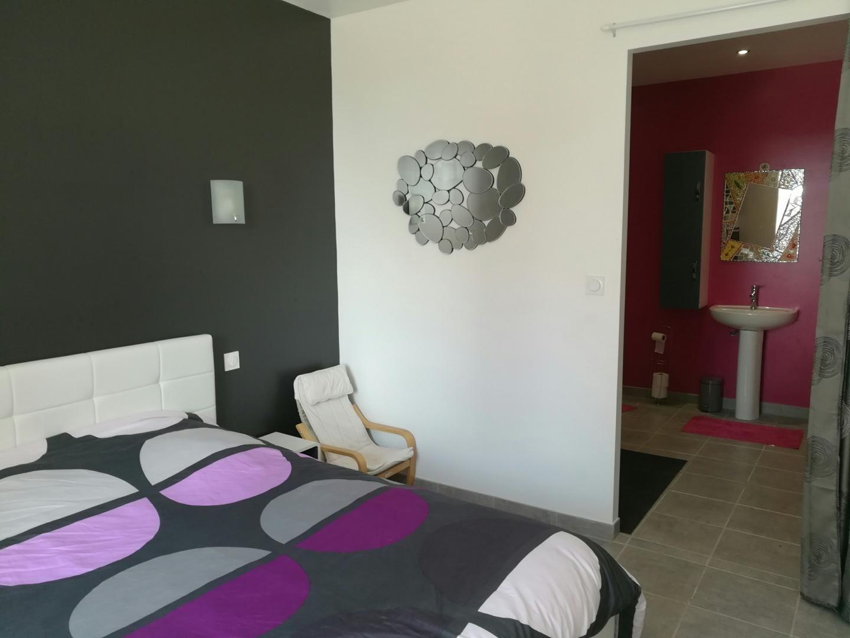 De belles chambres pour ce gîte en Mayenne avec une suite parentale