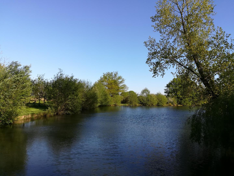 Beau plan d'eau privé en Mayenne