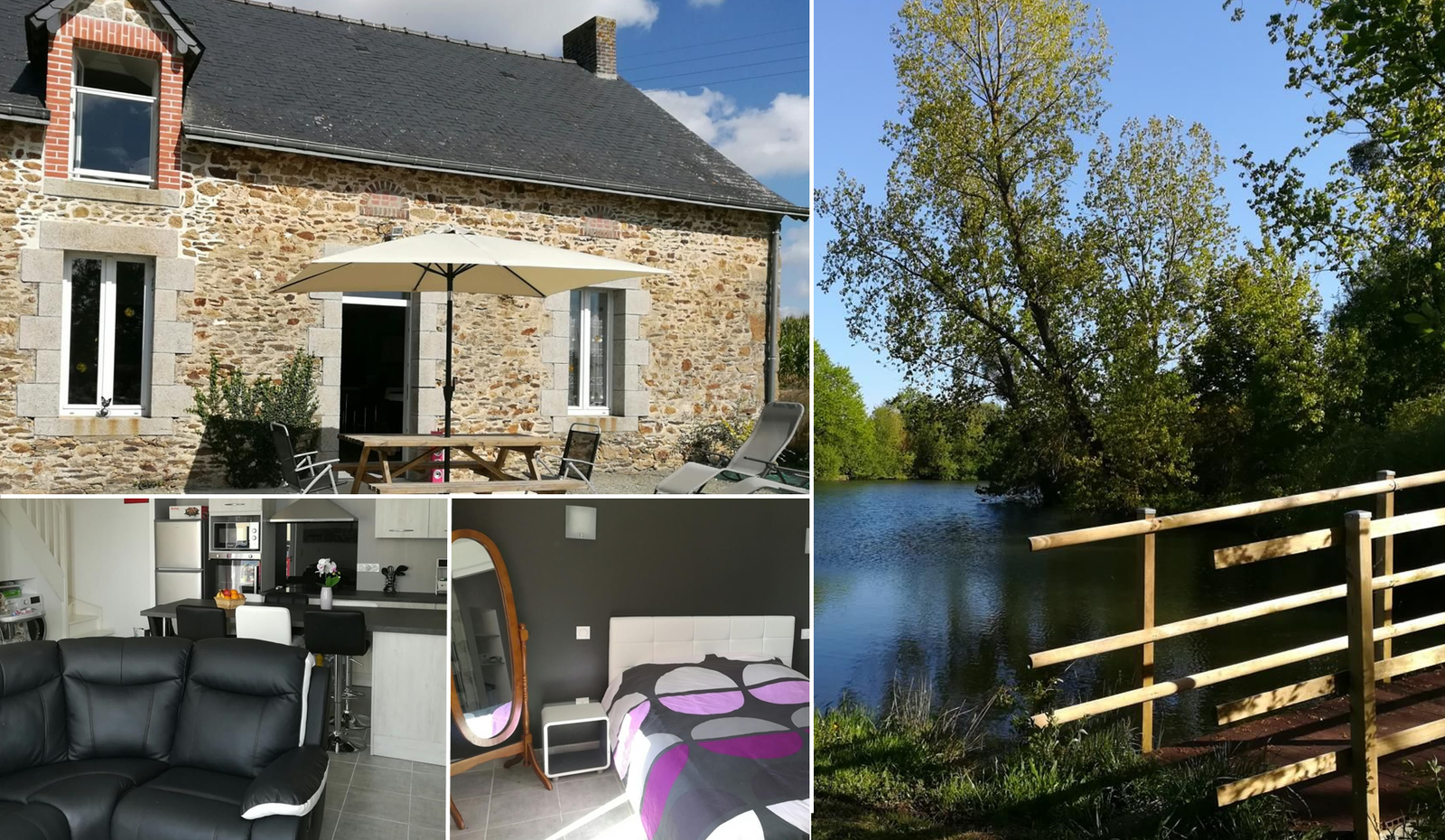 Gîte en Mayenne, pour un séjour à la campagne, à Montjean