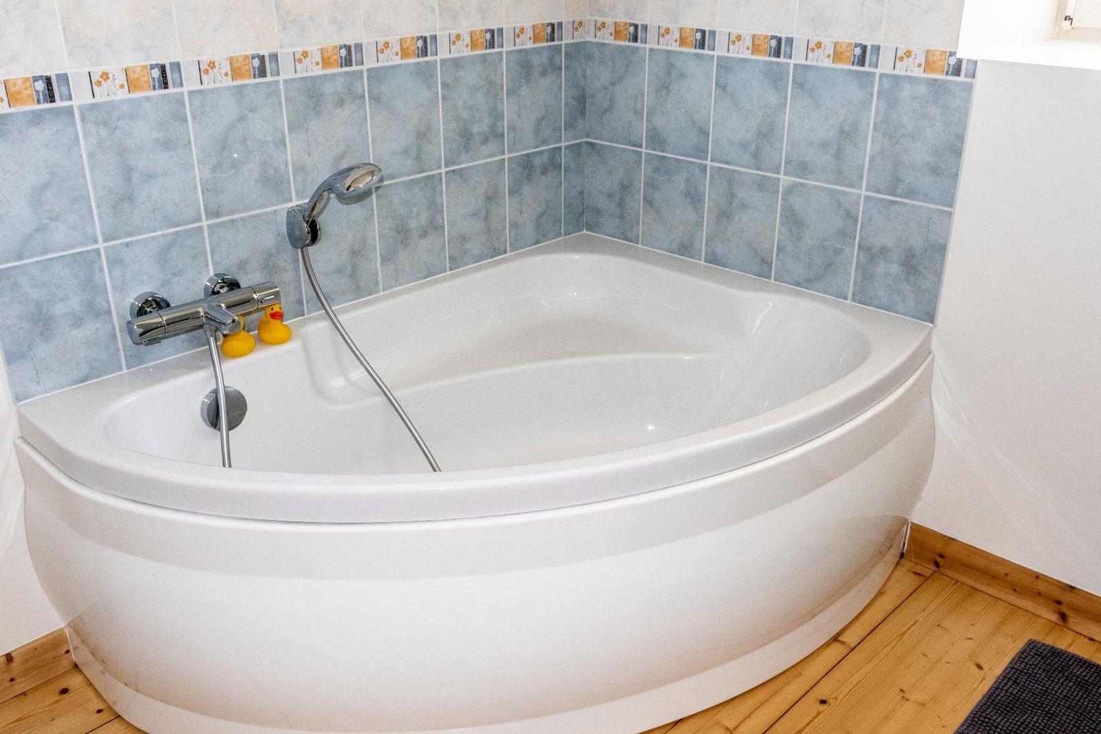 la baignoire et ses canetons