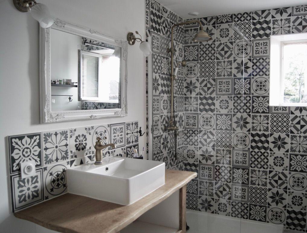 Salle d'eau style vintage
