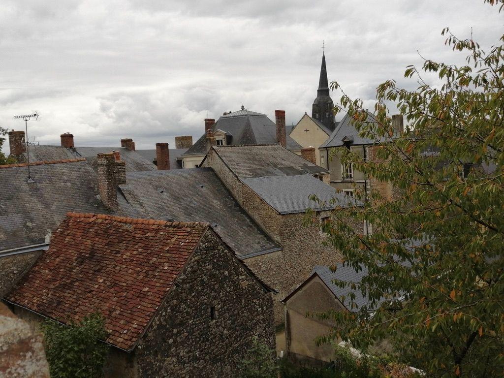 Vue sur les toits depuis une des tours