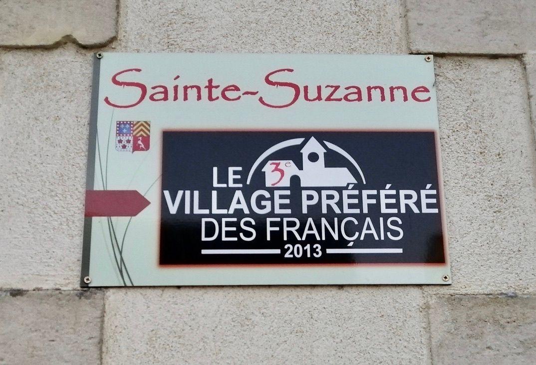 Sainte-Suzanne, village préféré des français