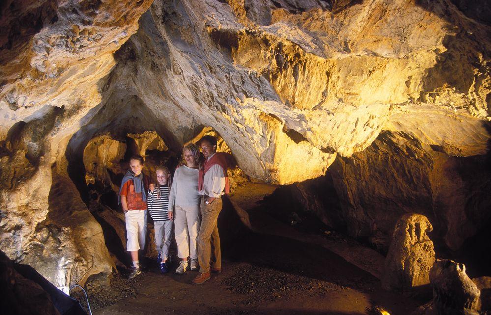 Au pied des grottes préhistoriques à visiter