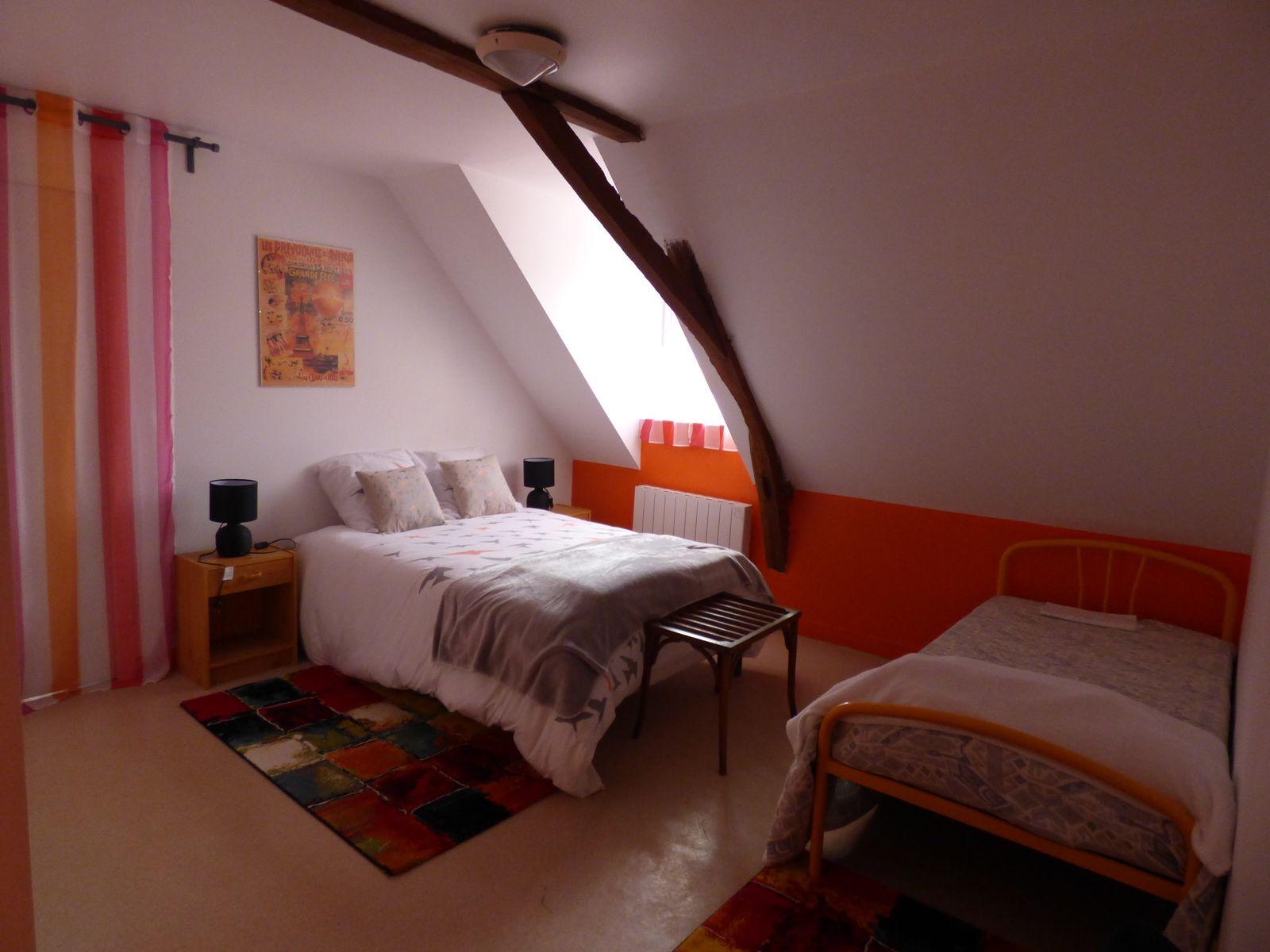 Belles chambres complètement rénovées pour le gîte des Falaises à Saulges en Mayenne
