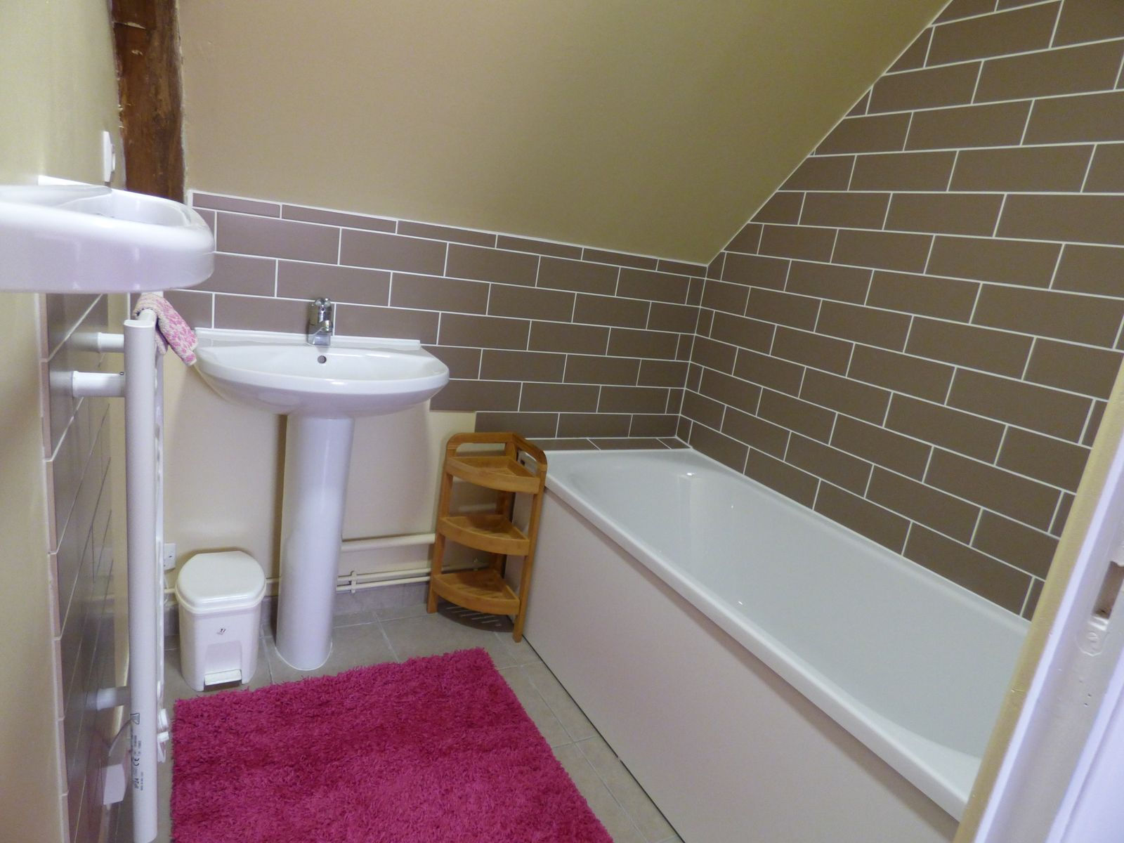 Salle de bain privative à chaque chambre