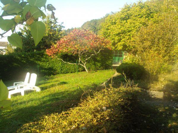 le jardin clos et reposant