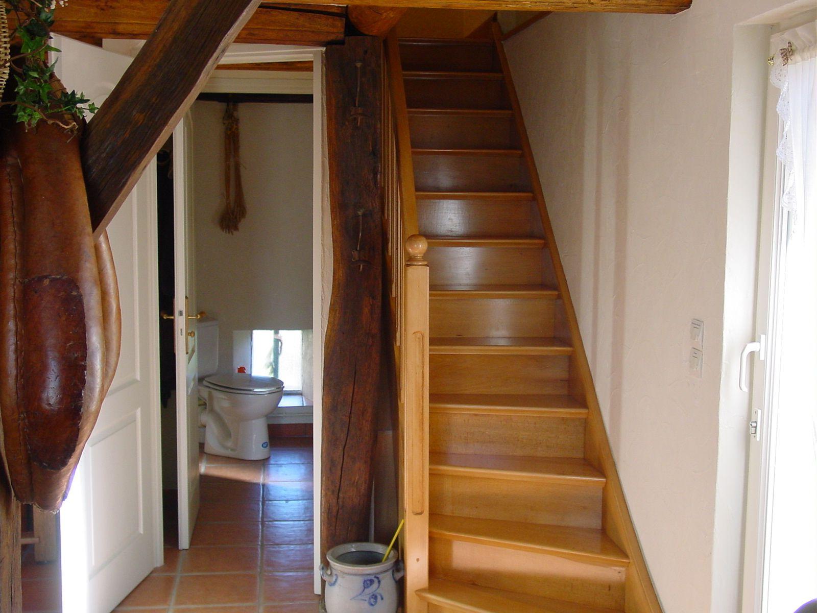 Escalier vers 1er étage