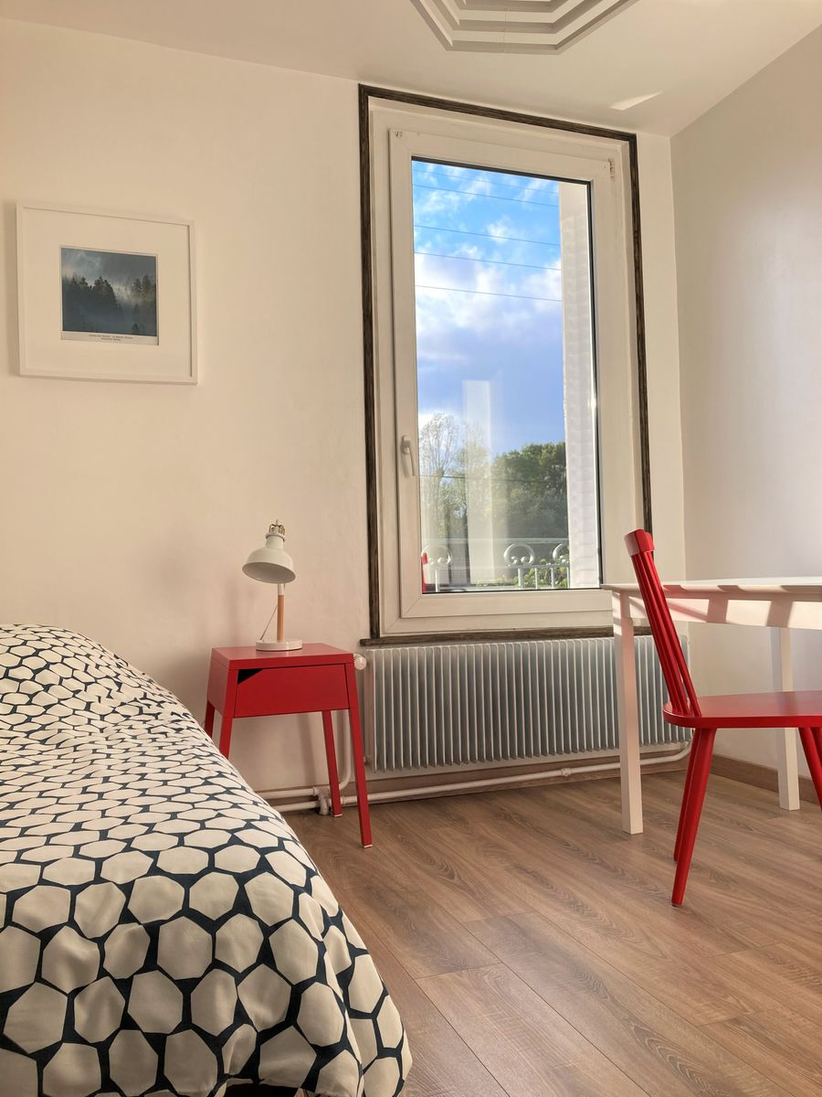 Chambre : 1 lit simple