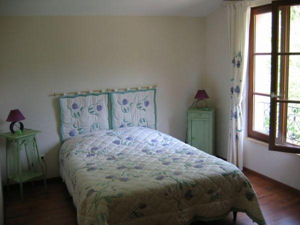 la deuxième chambre. lit king size