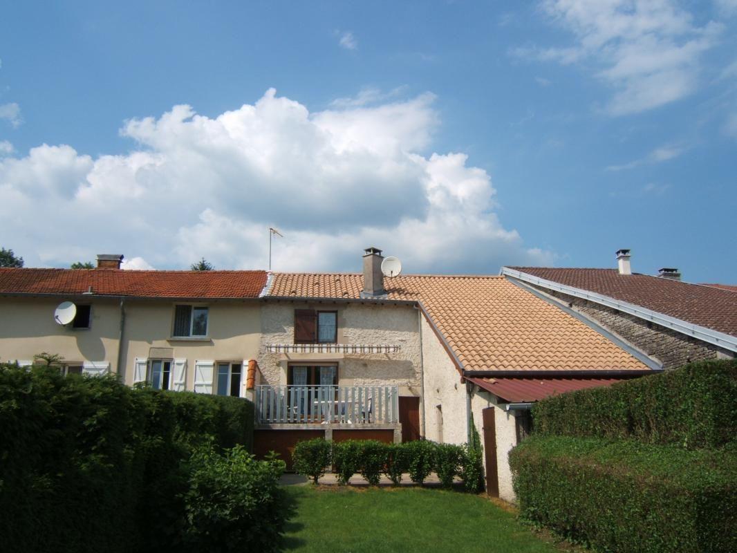 ARRIERE du Gite avec Terrasse
