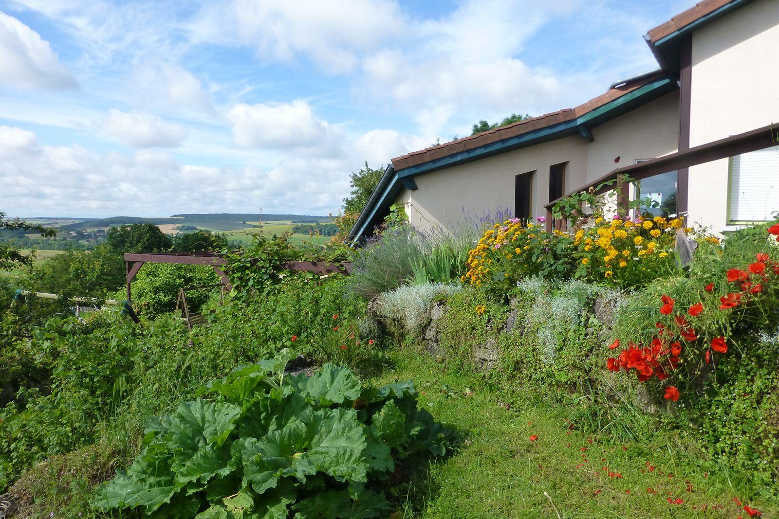la maison, le jardin...