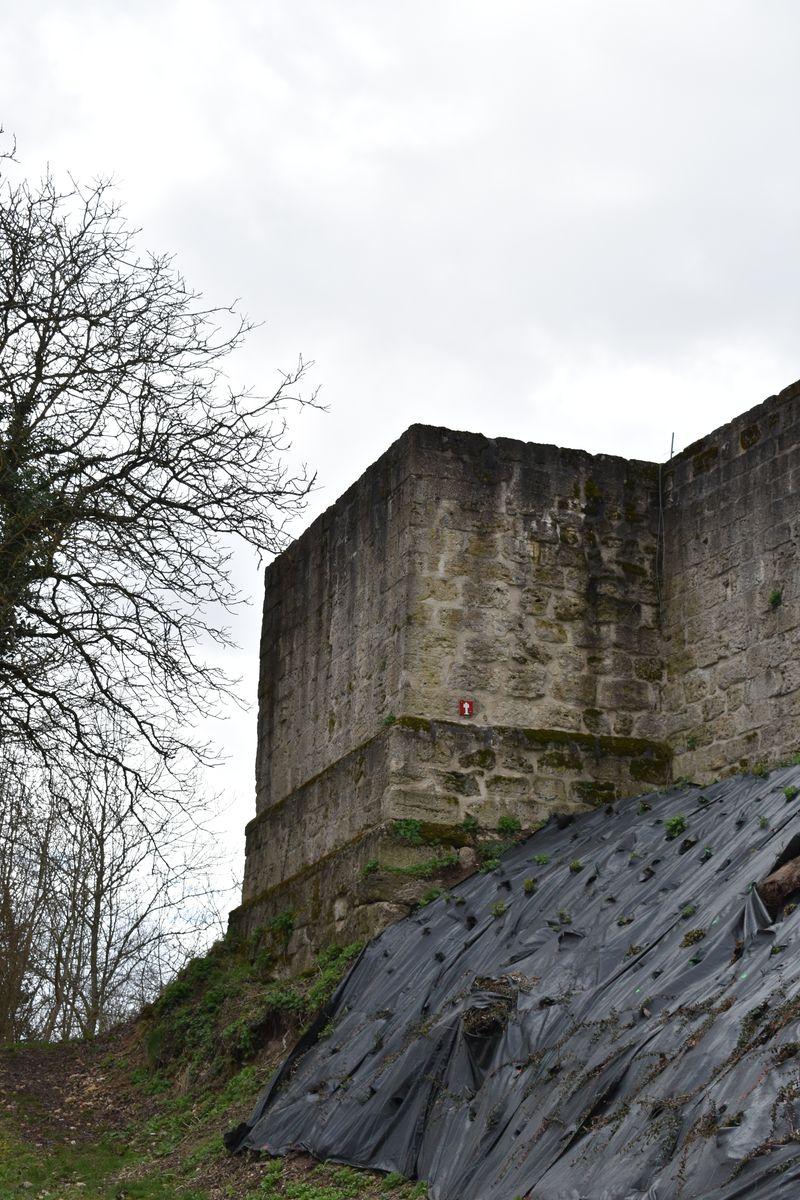 tour carrée du XIIIème siécle