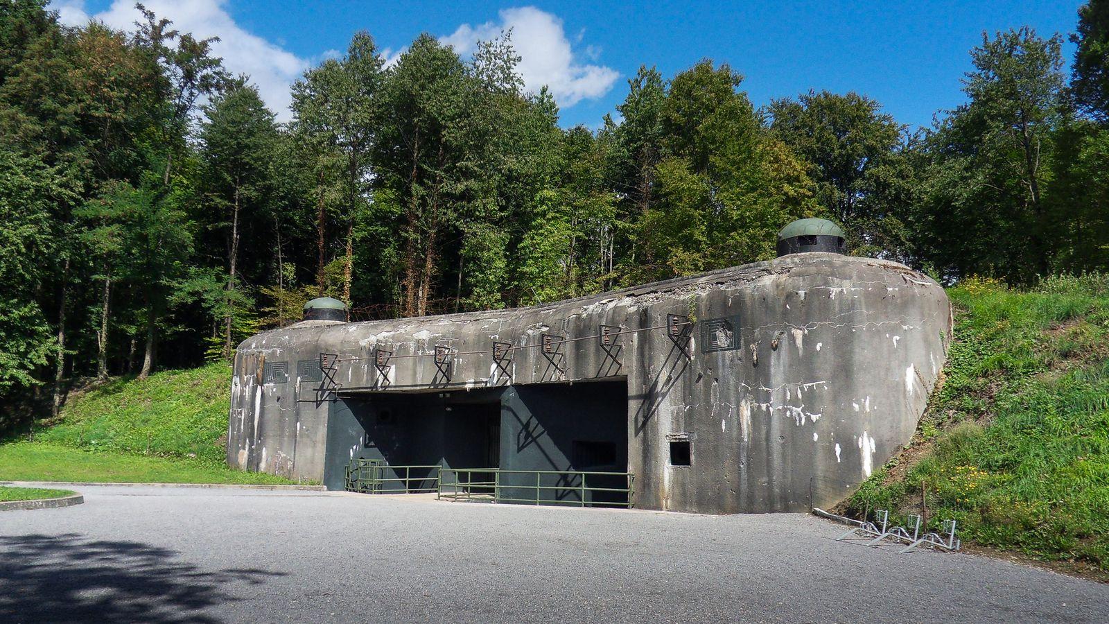 Le fort du Schoenenbourg - Ligne Maginot. Dans la forêt de Hunspach