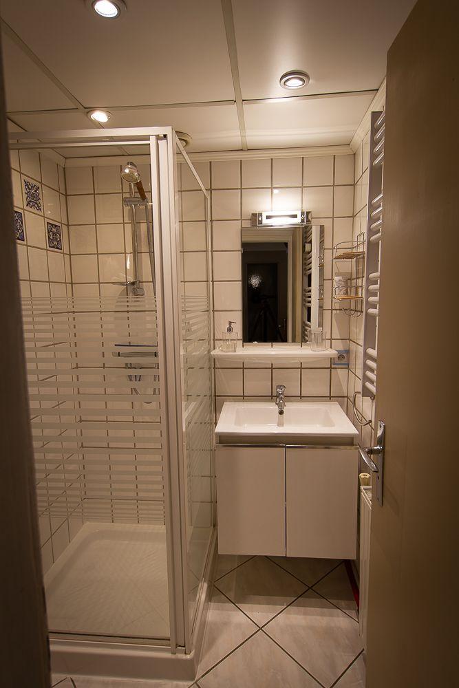 Petit espace douche