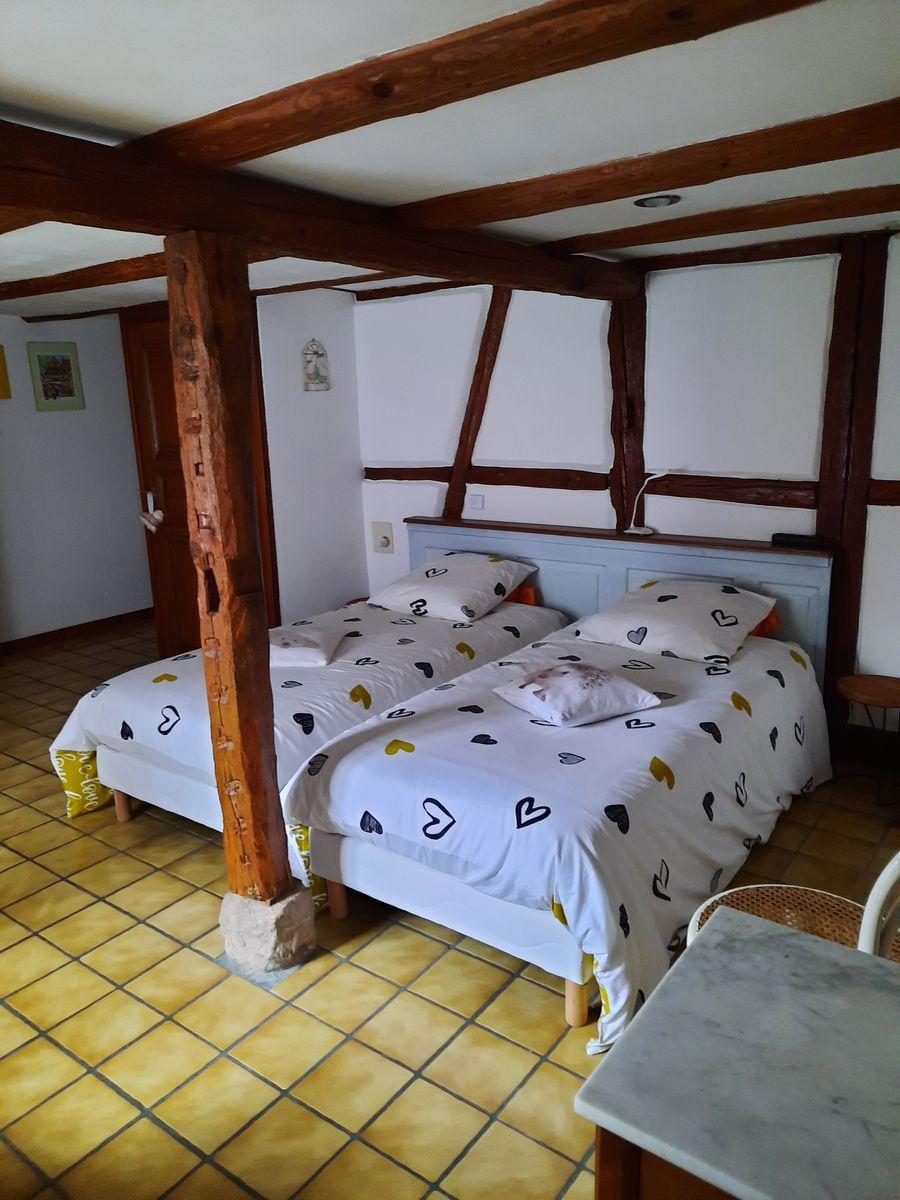 Chambre - 2 lits 0.90/140