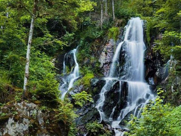 La cascade d'Andlau