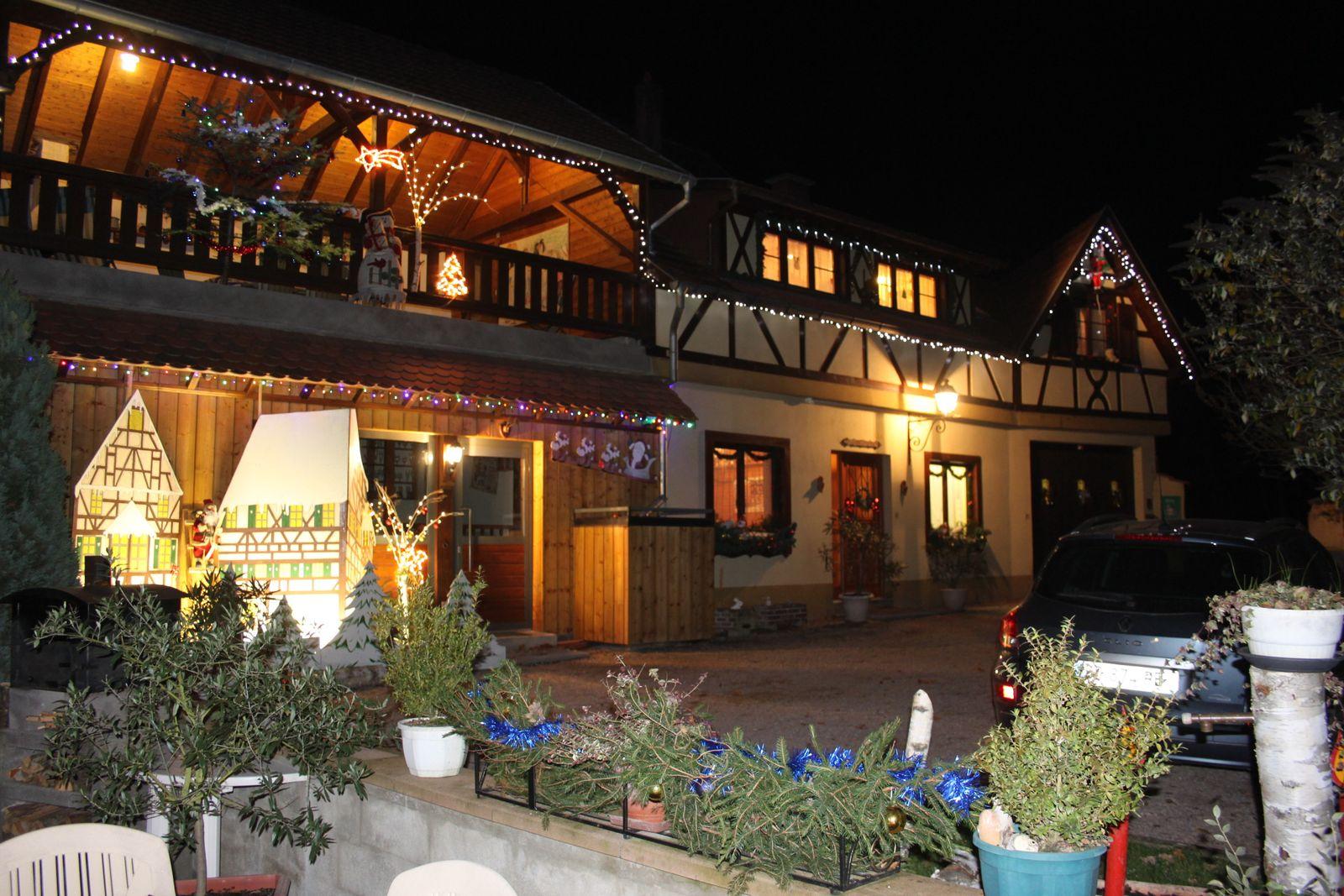 La Maison de Vacances à l'approche de Noël