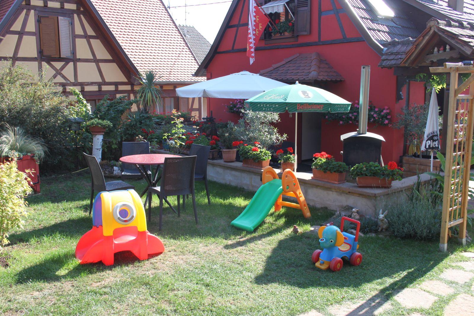 Espace jeux pour enfants