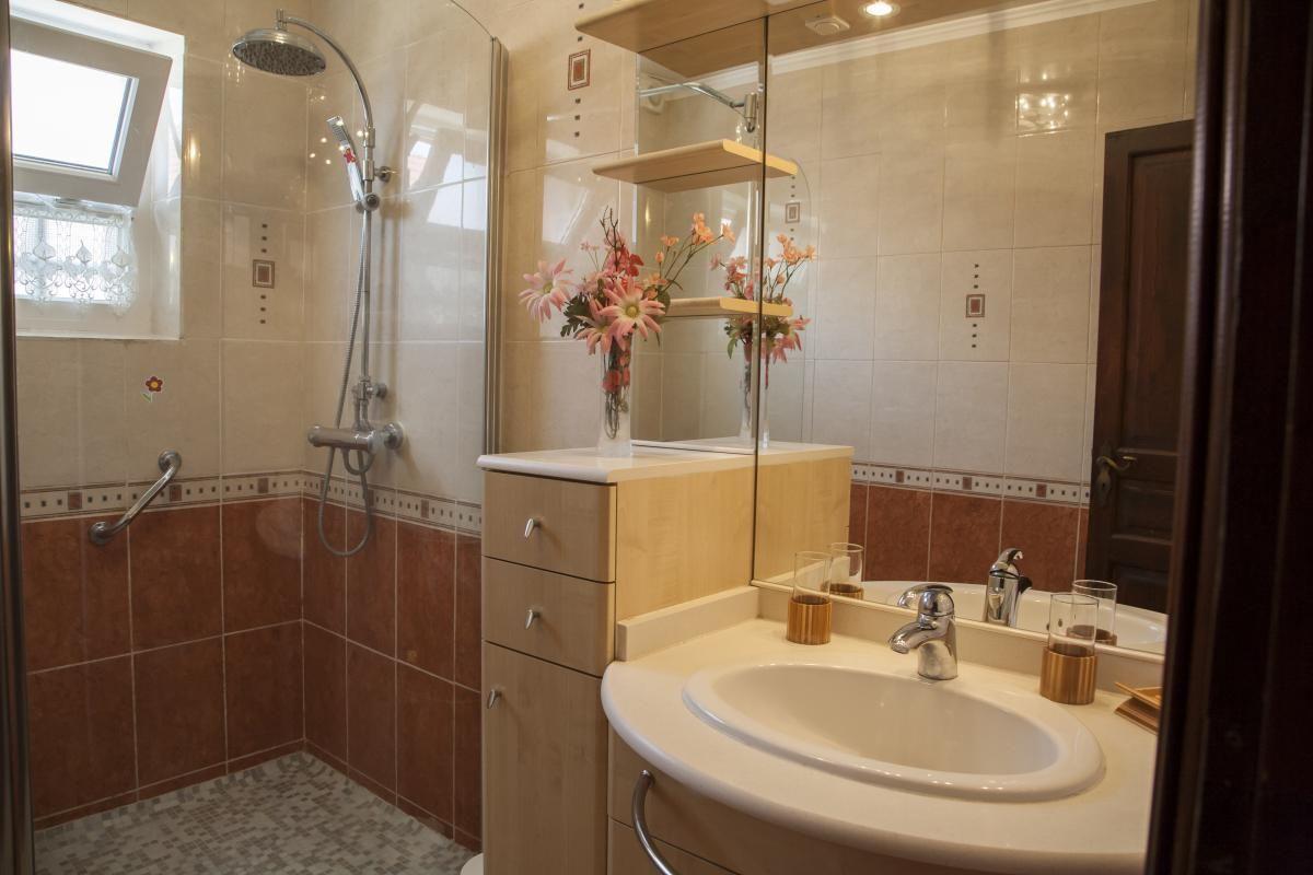 salle de bain avec douche à l' italienne
