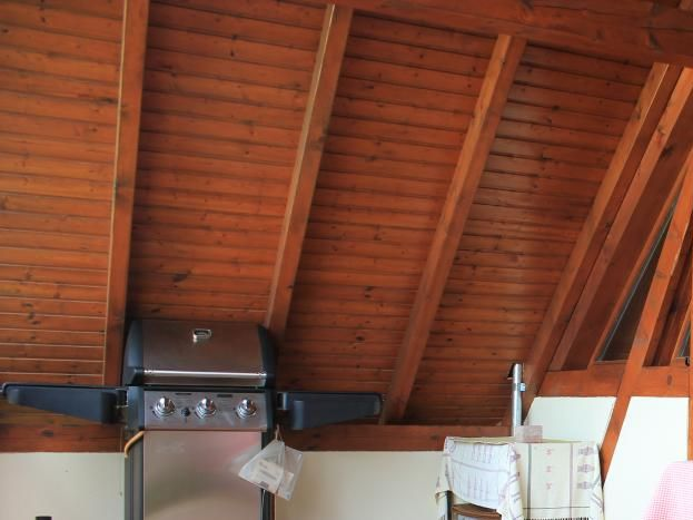 16 Terrasse couverte de 15 m2  avec barbecue