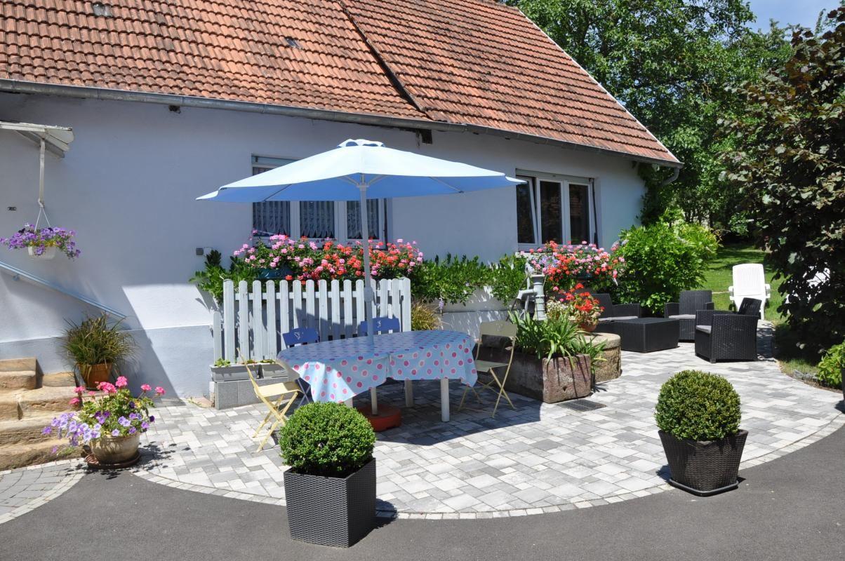 La terrasse et l'espace détente