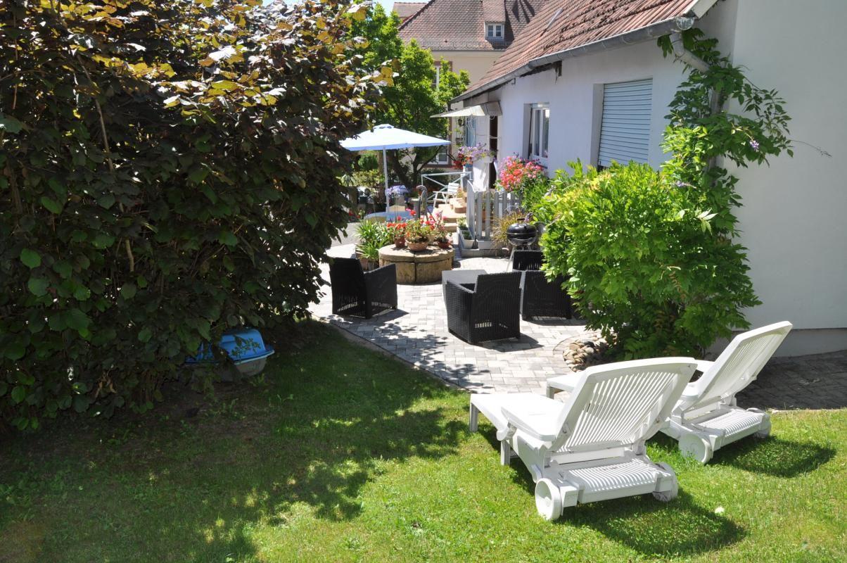 La terrasse extérieure et l'espace détente