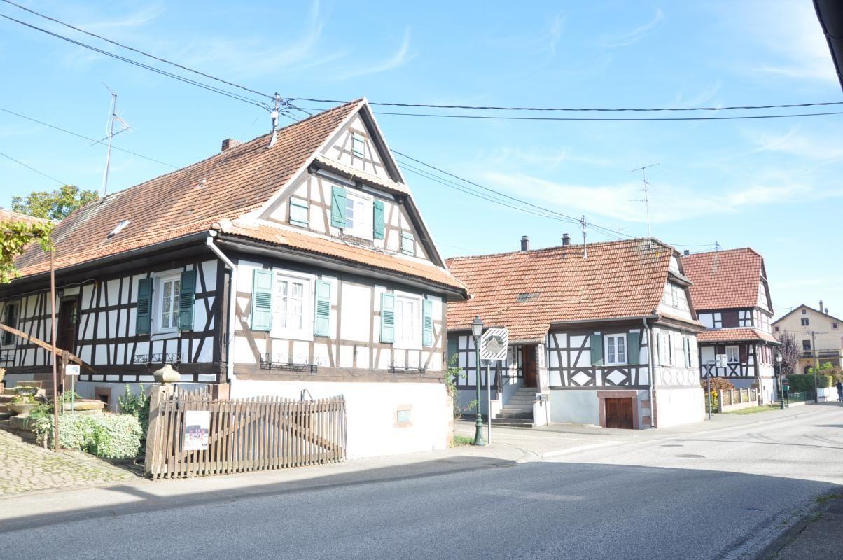 Maisons typiques du village