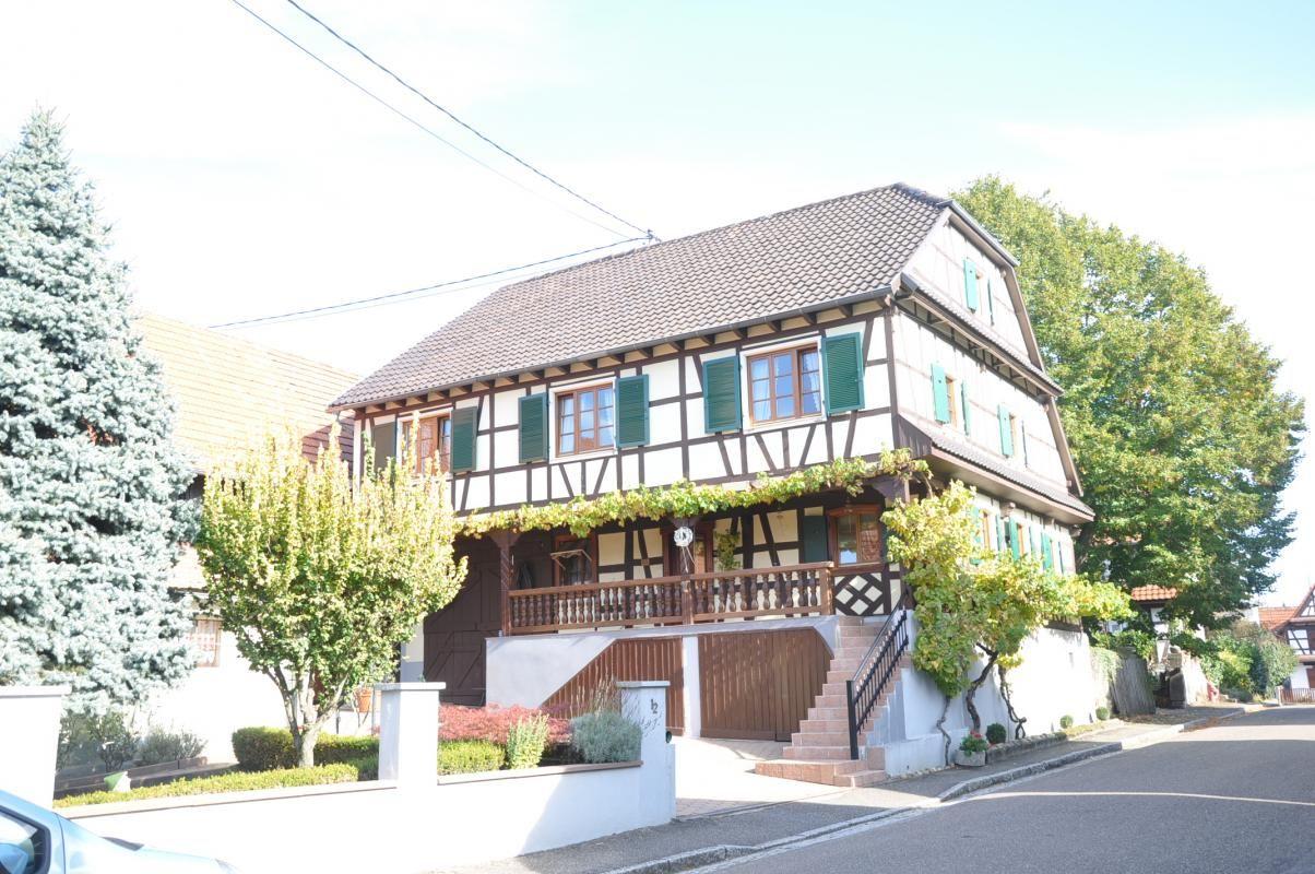 Maison typique du village