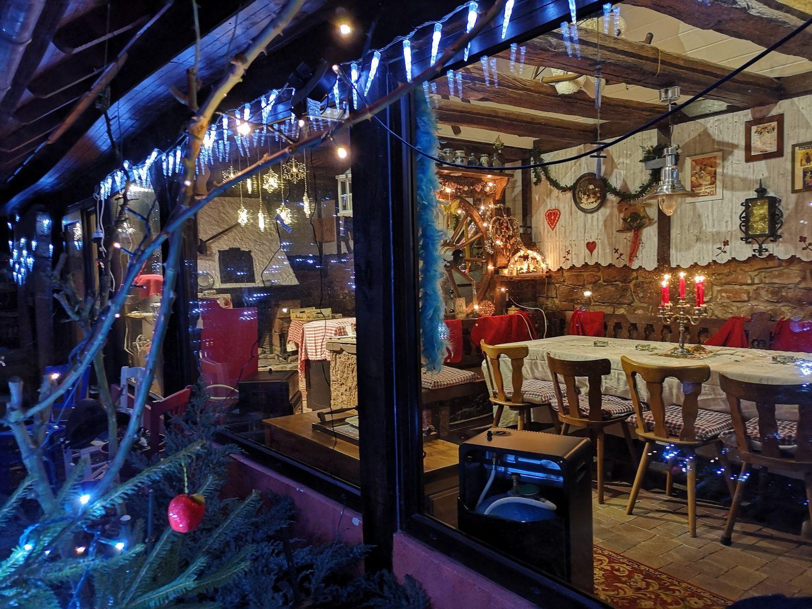 Table d'hôtes Noël