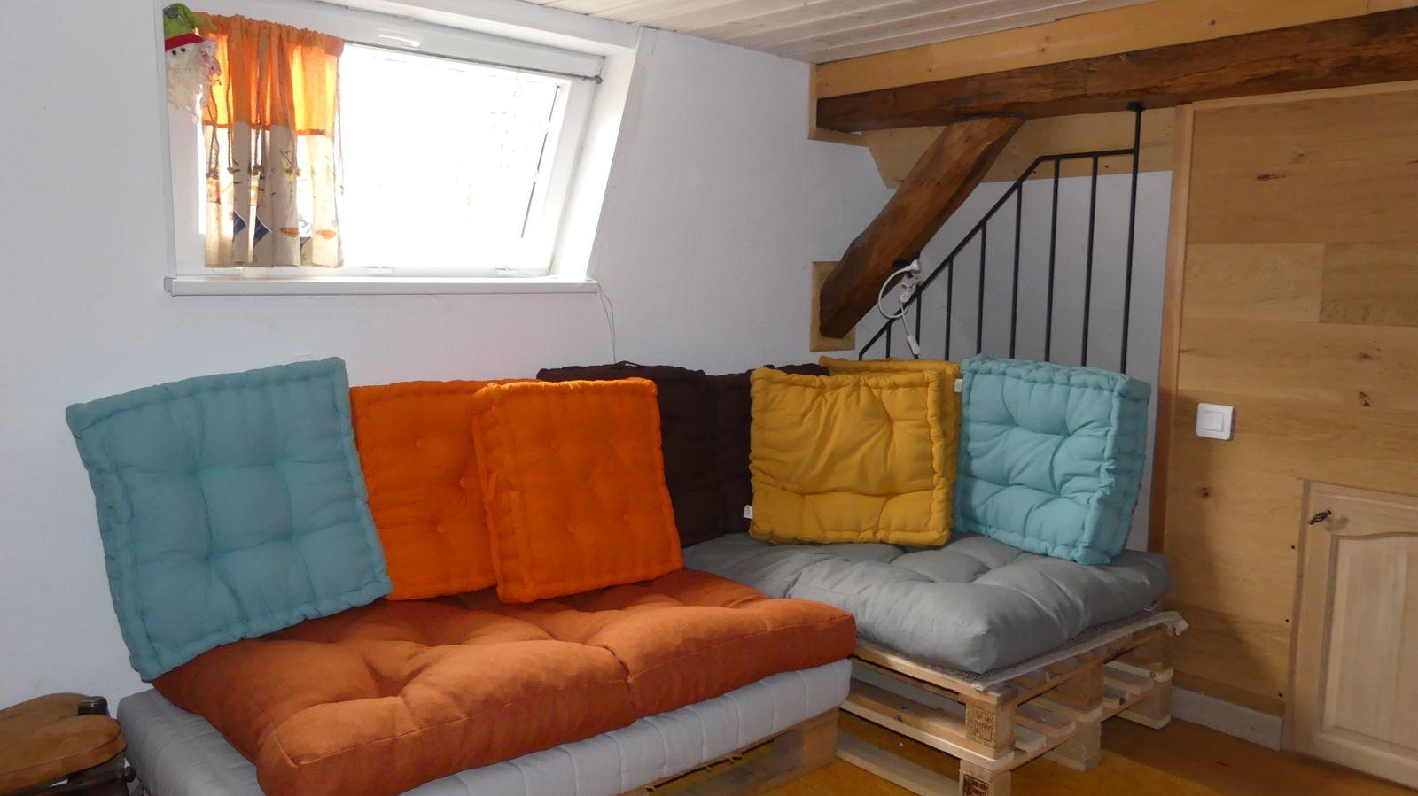 Mezzanine espace repos
