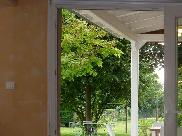 séjour ouvert de plain pied sur le jardin