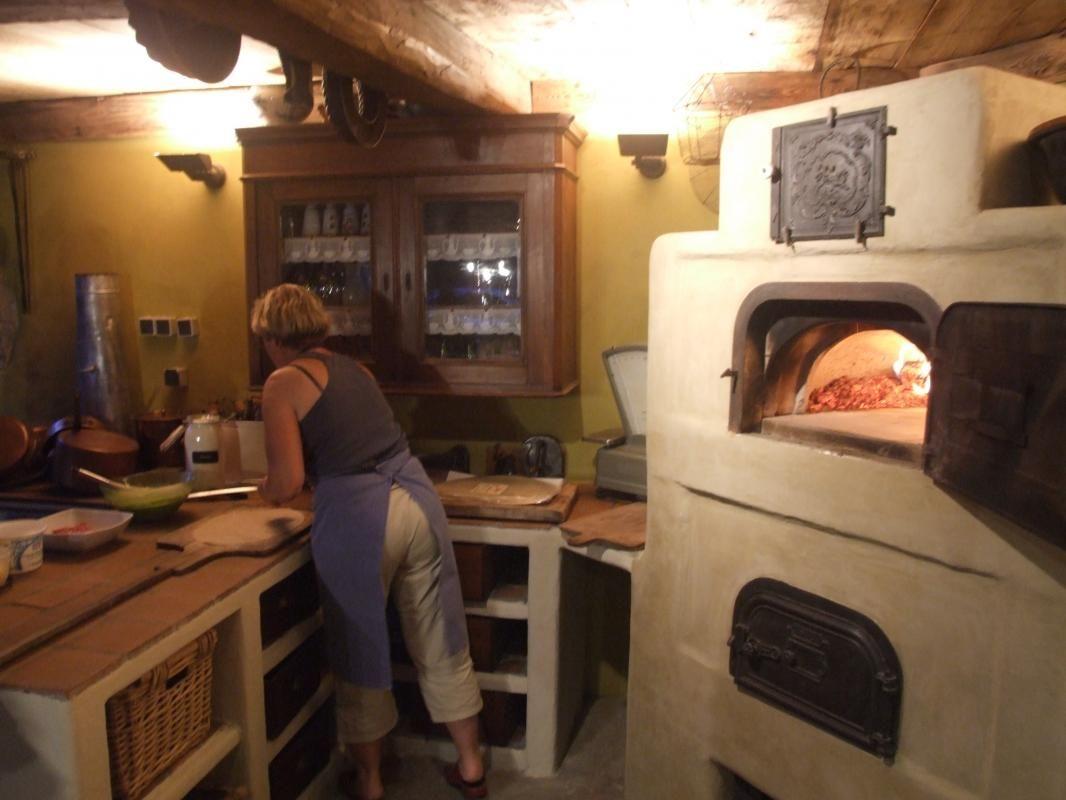 Soirée tarte flambée organisée par les propriétaires