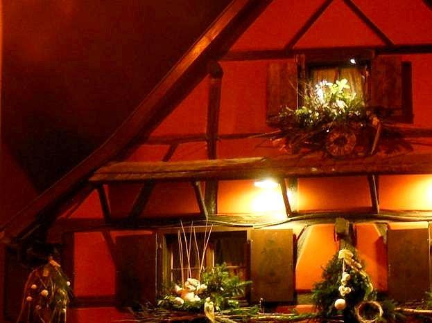 Maison des propriétaires à Noël