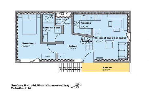 Plan du 1er niveau
