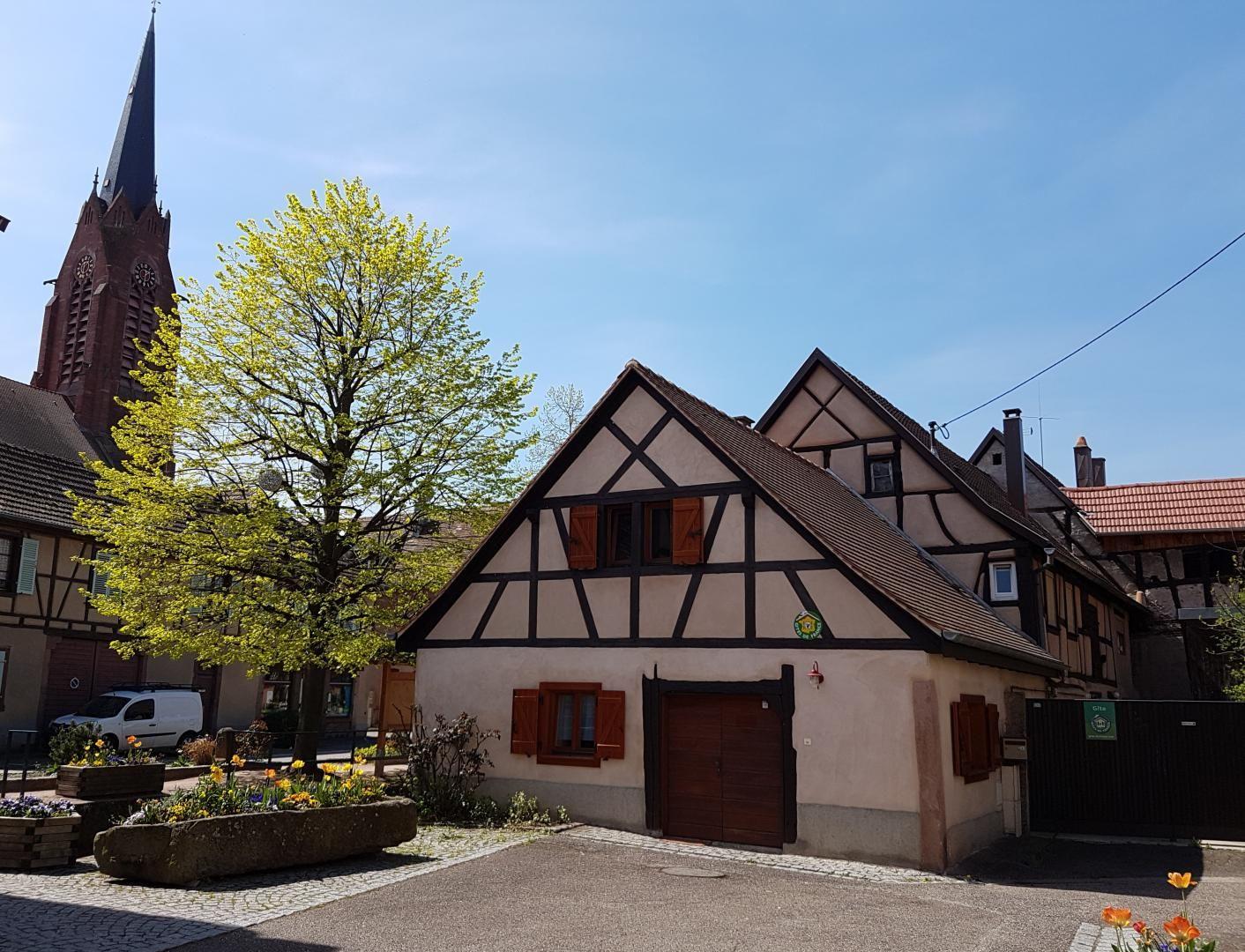 Gîte La Forge dans le centre historique du village