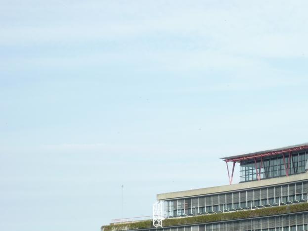 le Palais des droits de l'homme à quelques minutes à pied, à vélo, en tram ...