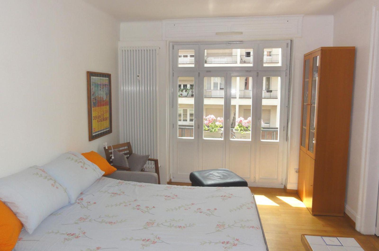 chambre 1 et canapé lit deux places