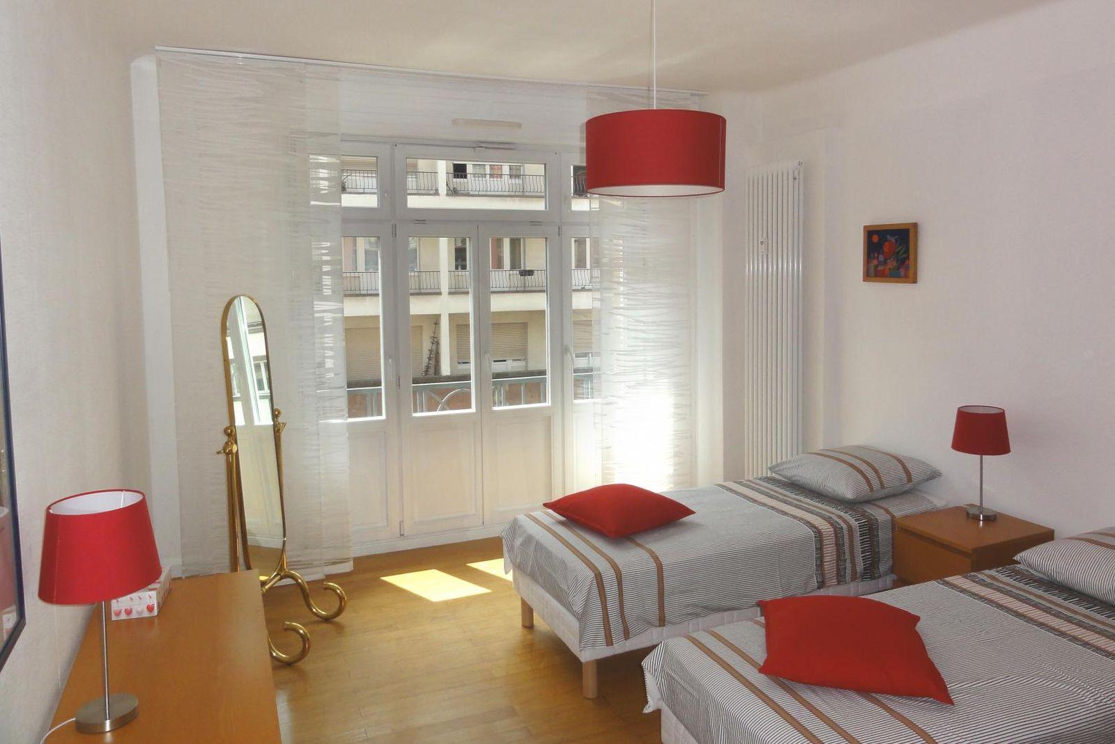 chambre 2 en version 2 lits indépendants
