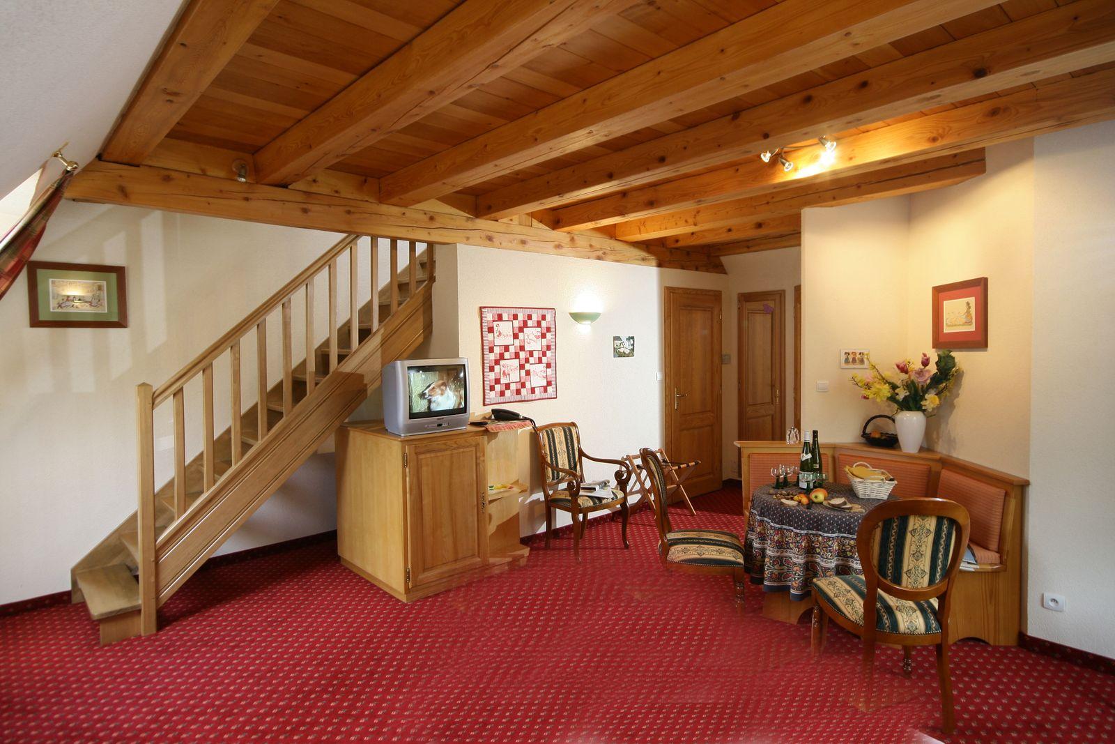 STE ODILE, Belle chambre DUPLEX pour 4 personnes, balcon.