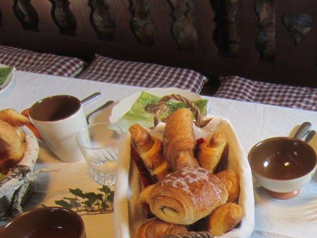 Pt déjeuner table d'hôtes